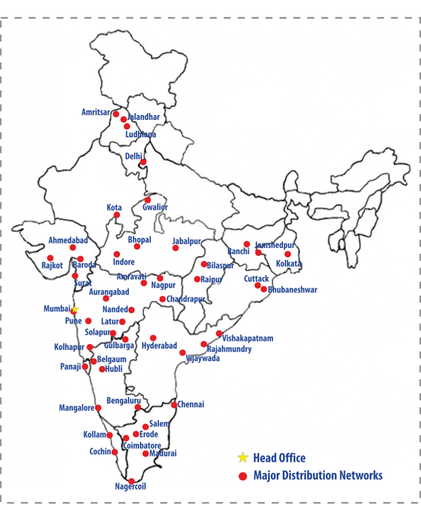bharat map